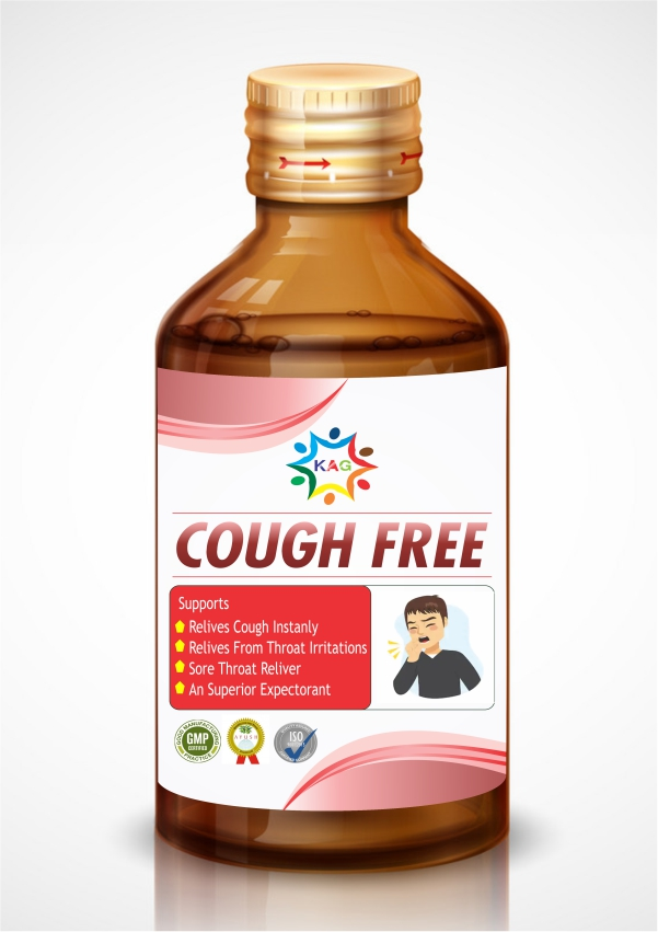 KAG COUGH FREE SYRUP (100ML)