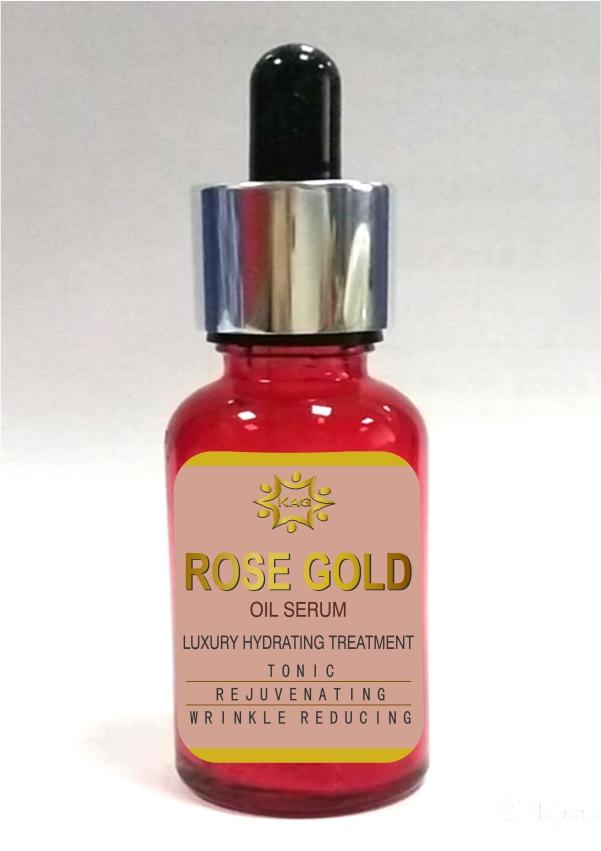 KAG ROSE GOLD OIL SERUM(15ML)