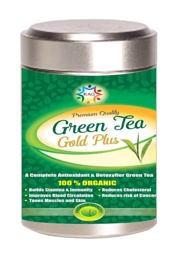 KAG GREEN TEA GOLD PLUS (100GM)