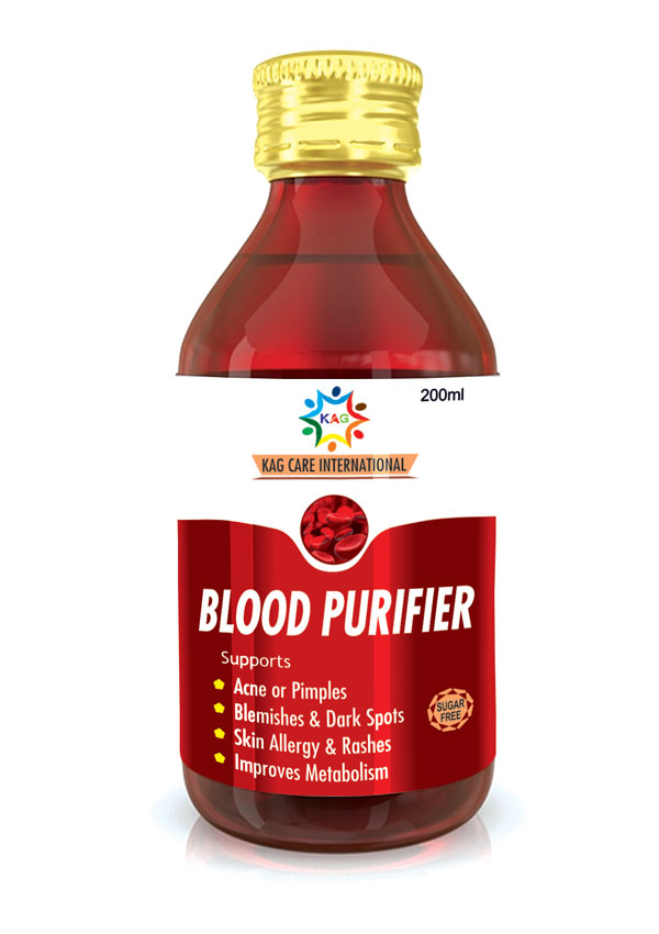 KAG BLOOD PURIFIER SYRUP (200ML) (SUGAR FREE)